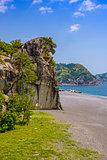 Shishi-iwa Japan