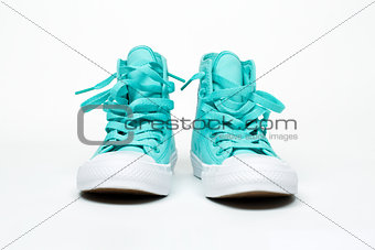 pair shoes isolated on white background
