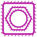 Pink Frames Set