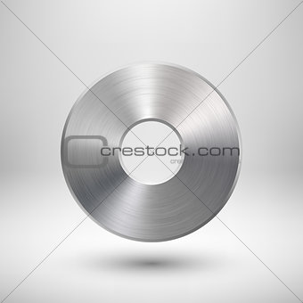 Abstract Donut Button Template