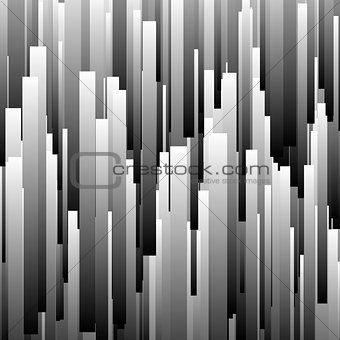 Abstract Background with Glitch Effect