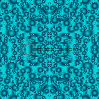 abstract turquoise seamless pattern