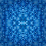 abstract blue seamless pattern