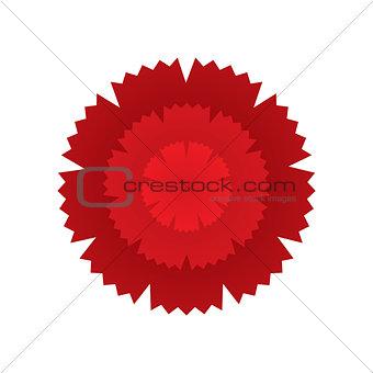 Carnation flower icon