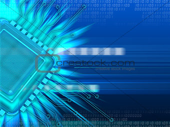 cyber background