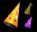 Party hat vector illustration