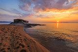 Ierissos-Kakoudia beach, Greece