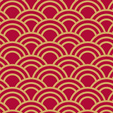 Seamless wave japanese pattern