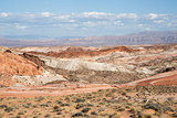 Valley Of Fire State Park Landscape, Nevada, USA