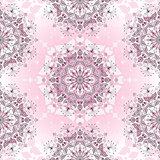 Vintage seamless pink pattern