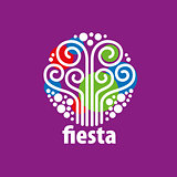 holiday vector logo