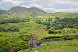 river and lake on the kerry way