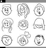 kids characters set