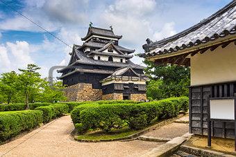 Matsue Castle of Japan