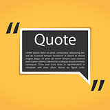 Text Box with Quotes