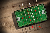 Mini Table Football Game with Soccer Ball