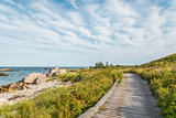 Boardwalk at Keji Seaside trail