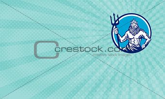 Poseidon Sea Freight Business Card