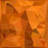 Dark Orange Carrot Abstract Low Polygon Background