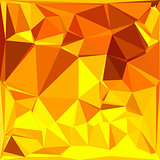 Gold Yellow Banana Abstract Low Polygon Background