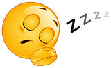 Sleeping emoticon