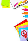 School stationery border
