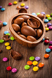 Assorted chocolate for Easter