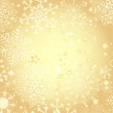 Golden Christmas frame