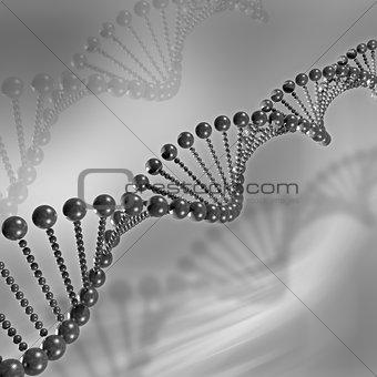 3D DNA Medical background