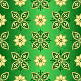 Seamless dark green gradient pattern