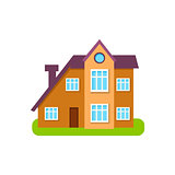 Modern Style Suburban House Exterior Design