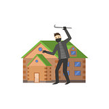 House And A Burglar