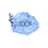 Percent Health Beauty Promo Sign