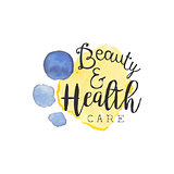 Healthcare And Beauty Promo Sign