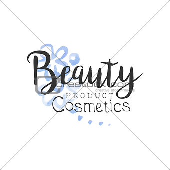 Cosmetics Product Beauty Promo Sign
