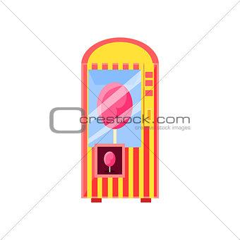 Cotton Candy Vending Machine Design