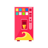 Sweet Drinks Vending Machine Design