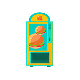 Burger Vending Machine Design