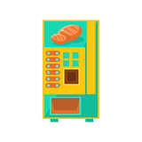 Bread Vending Machine Design