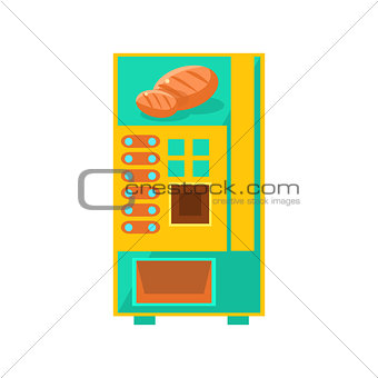 Bread Vending Machine Design
