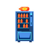 Soft Drink Vending Machine Design
