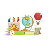 Geography Class Set Of Objects