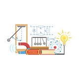Physics Class Set Of Objects