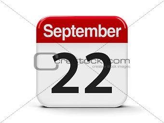 22nd September