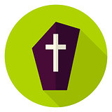 Gravestone Circle Icon