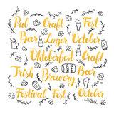Oktoberfest Lettering Set