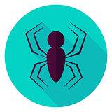 Spider Circle Icon