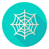 Spider Web Circle Icon
