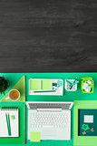 Green eco desktop