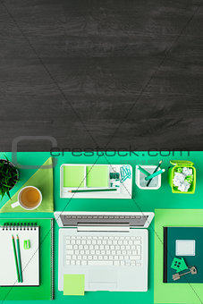 Green eco desktop